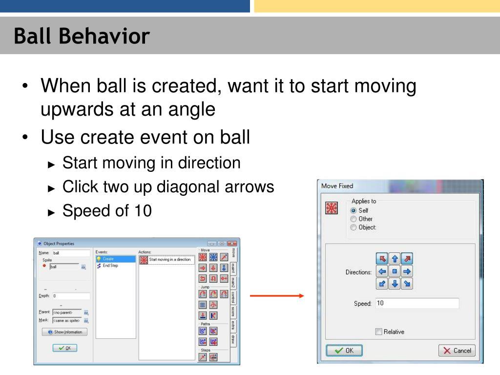 Ball Behavior