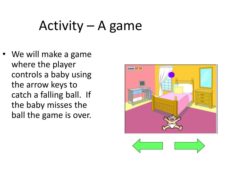 Activity – A game