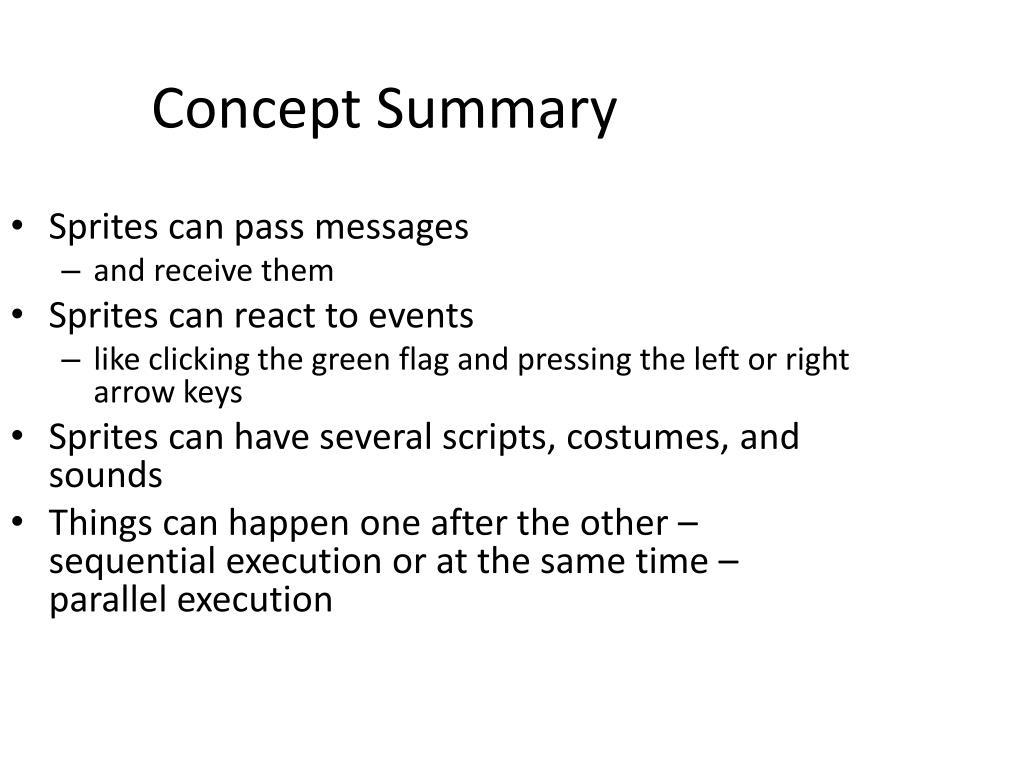 Concept Summary
