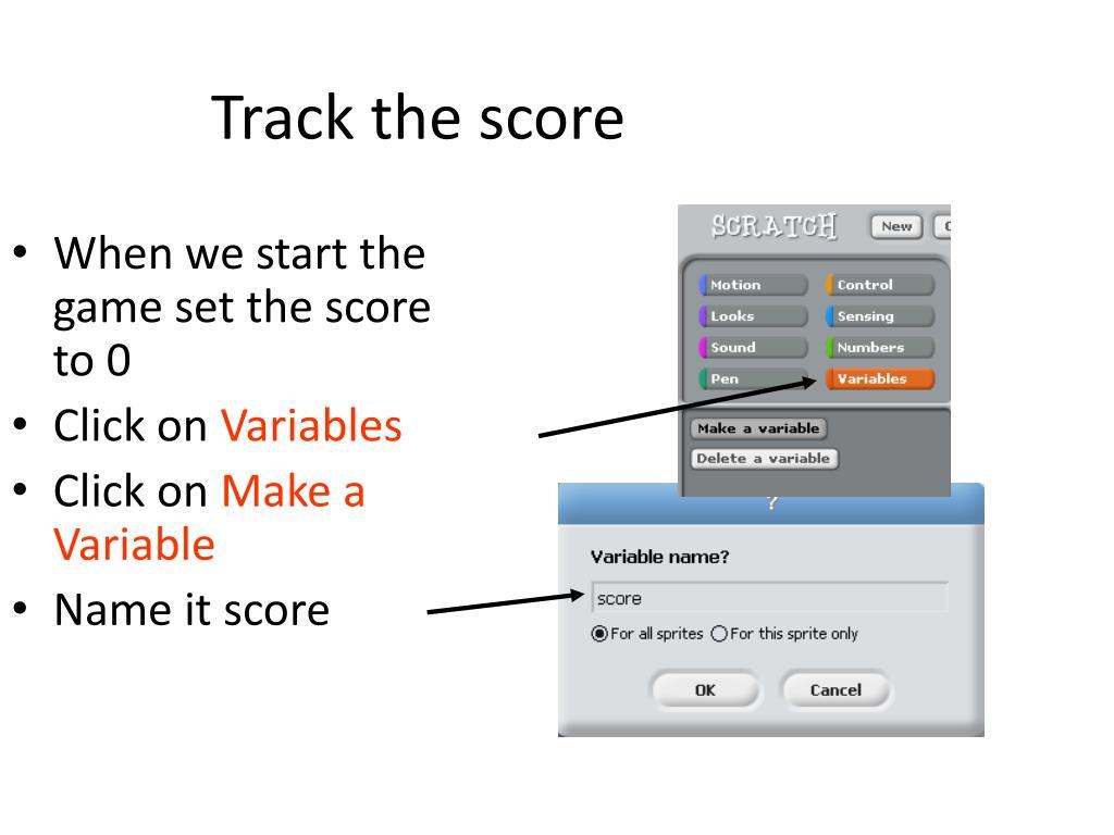 Track the score