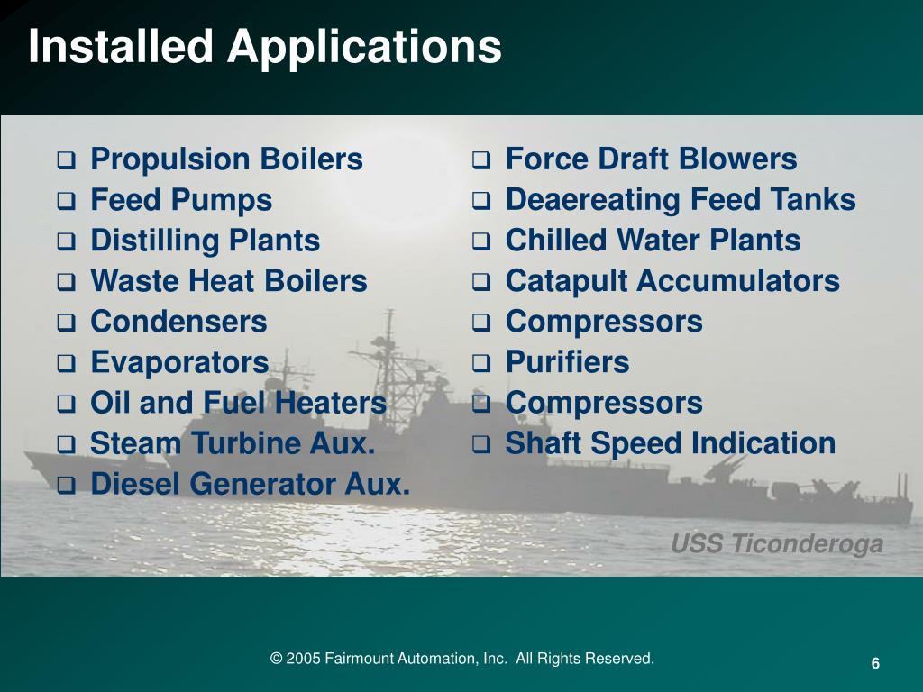 Propulsion Boilers