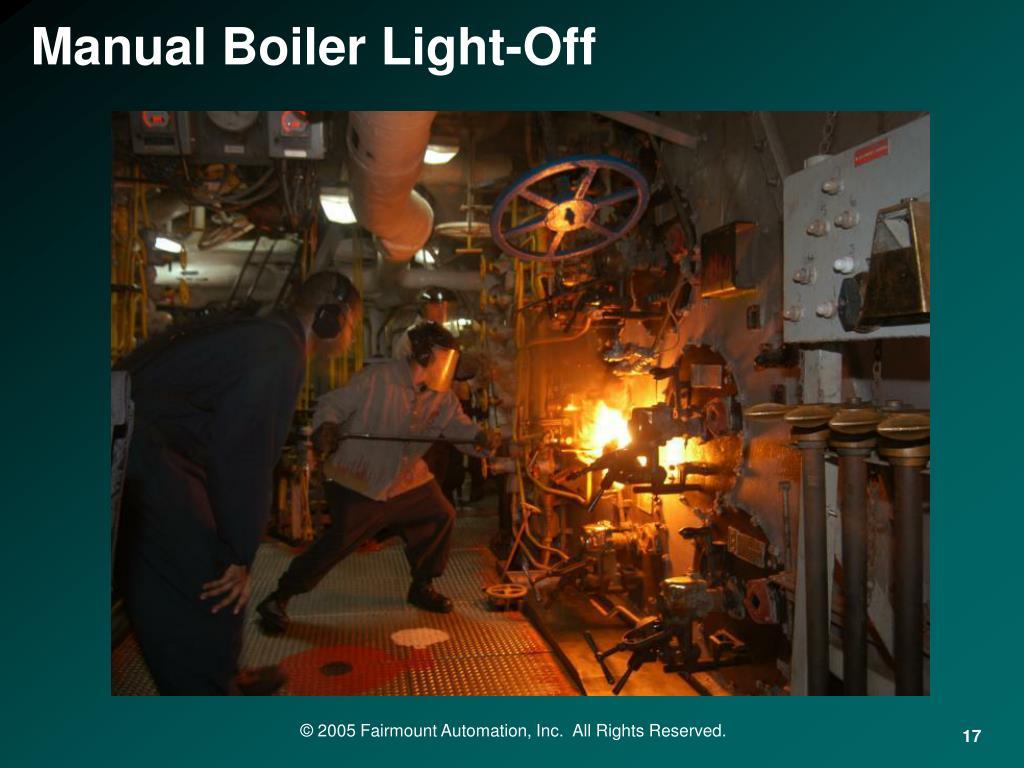 Manual Boiler Light-Off