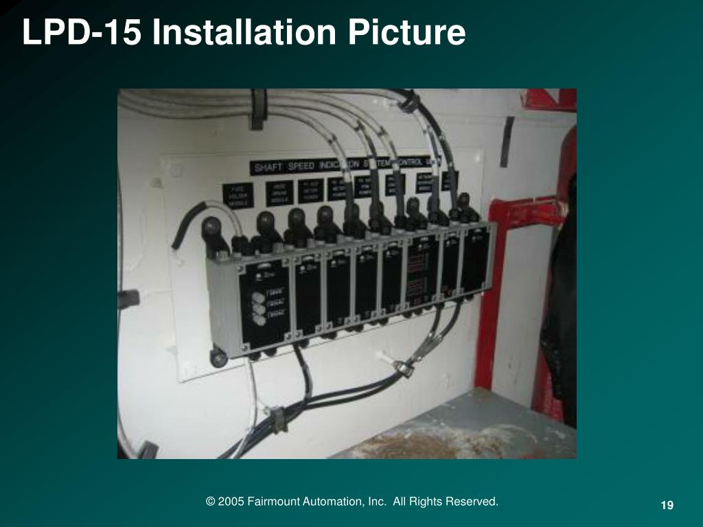 LPD-15 Installation Picture