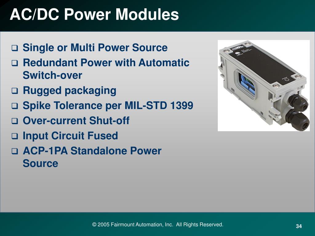 AC/DC Power Modules