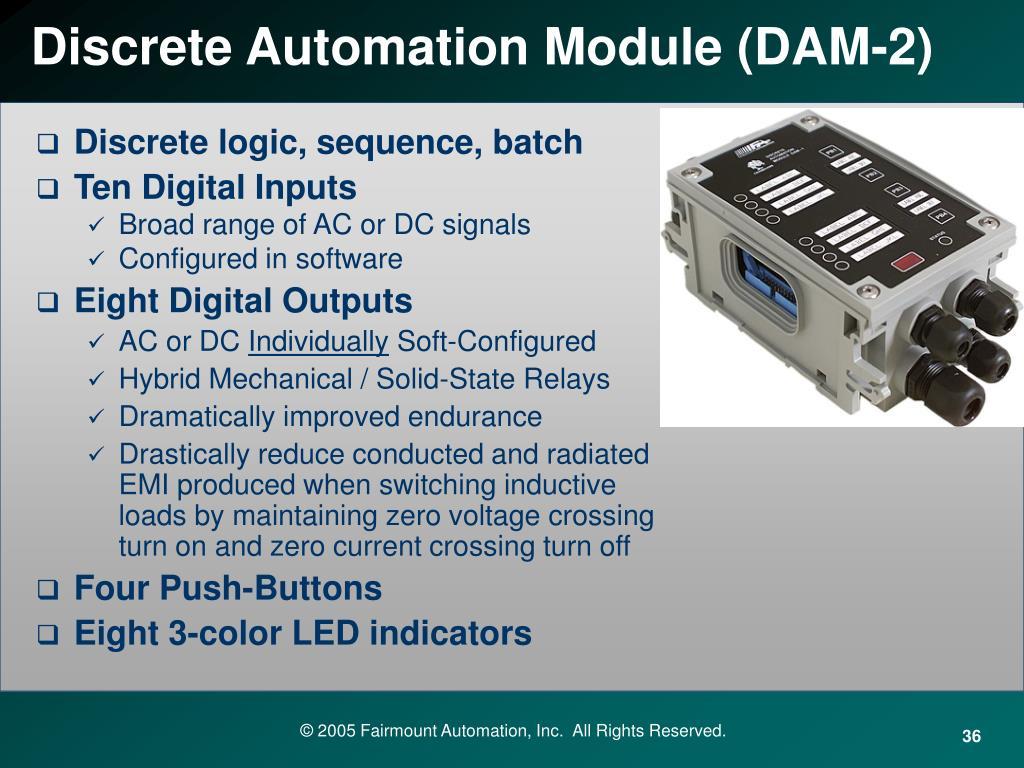 Discrete Automation Module (DAM-2)