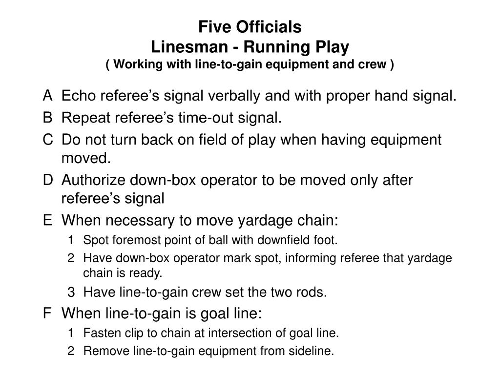Five Officials