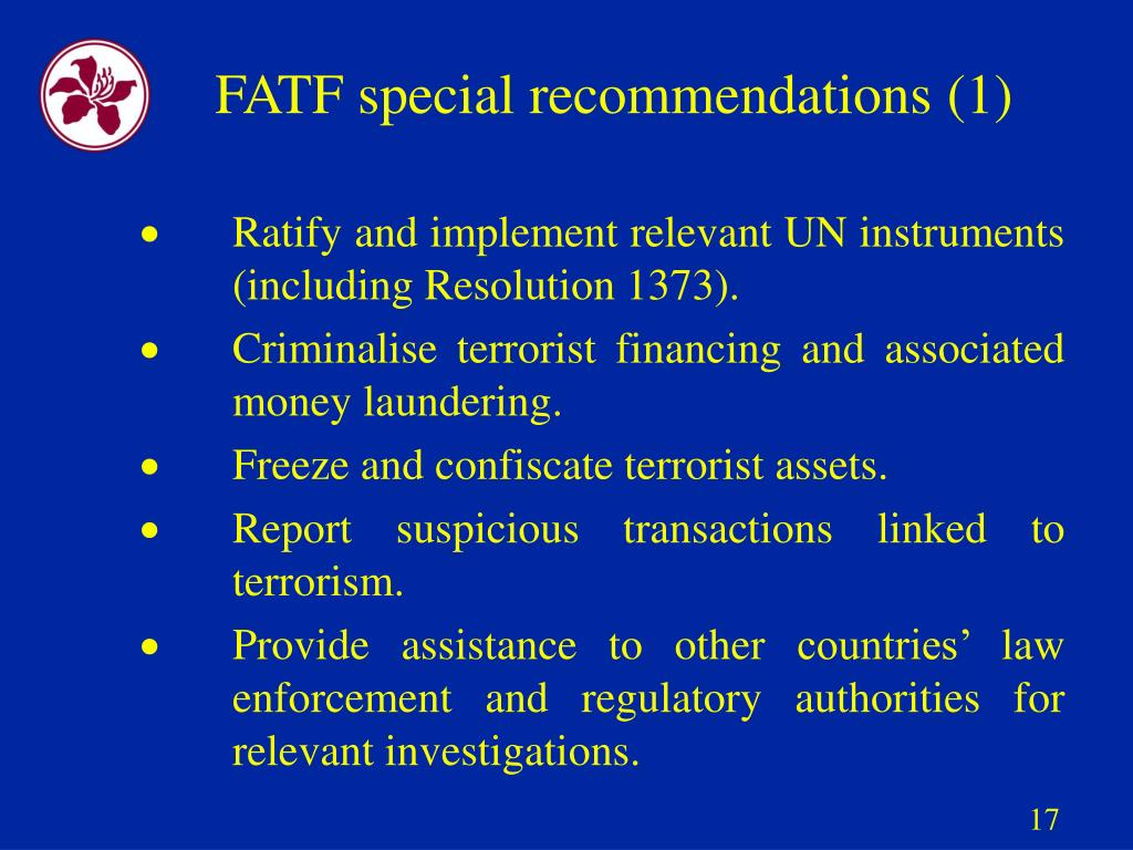FATF special recommendations (1)