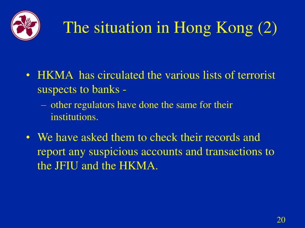The situation in Hong Kong (2)