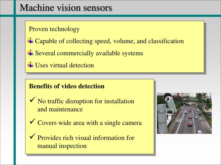 Machine vision sensors