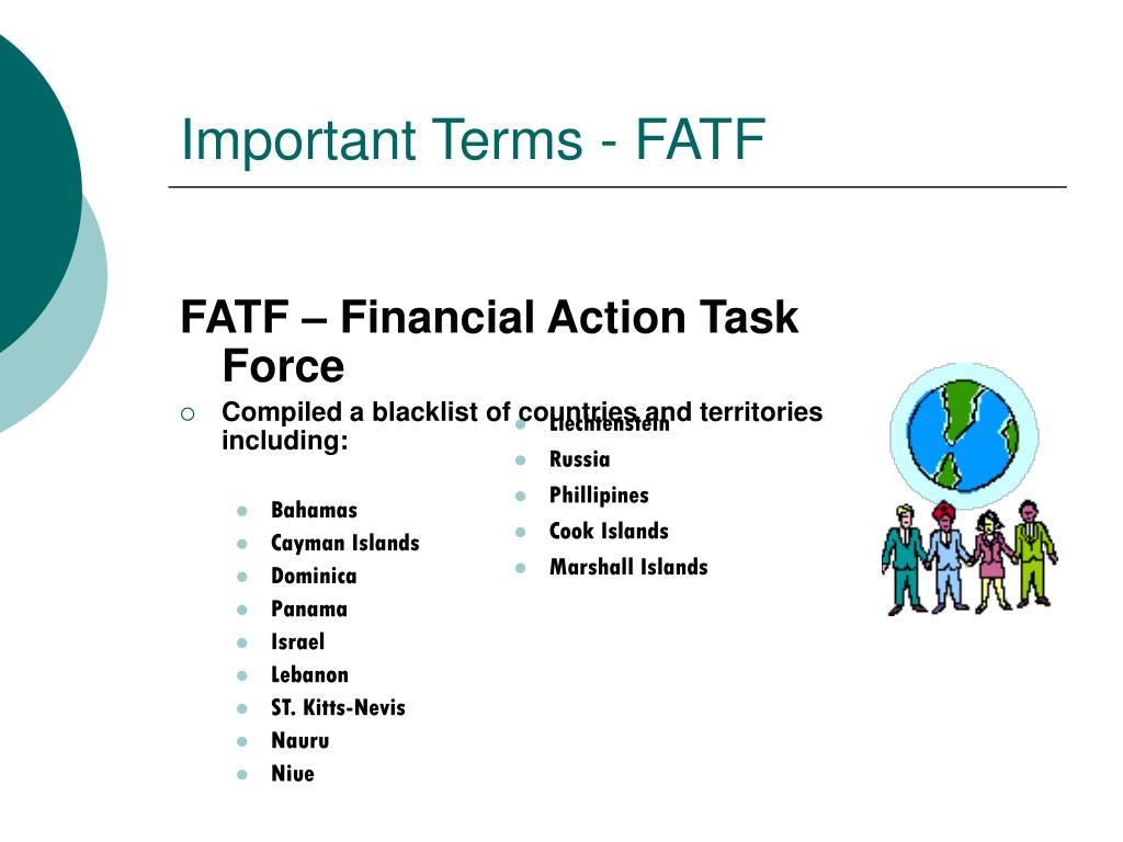 Important Terms - FATF
