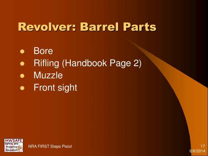 Revolver: Barrel Parts