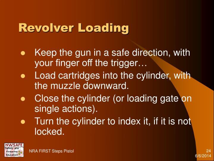 Revolver Loading