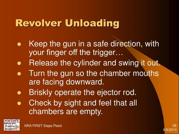Revolver Unloading