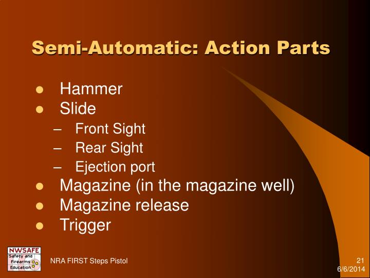 Semi-Automatic: Action Parts
