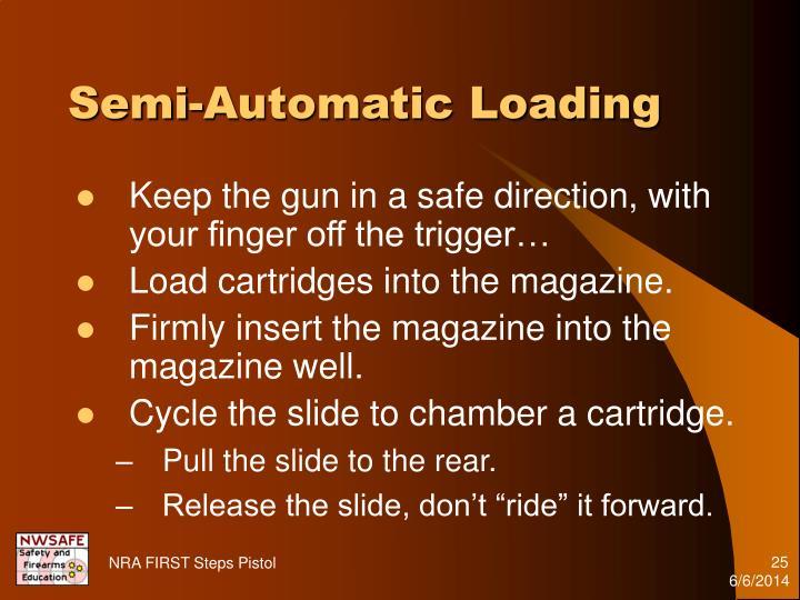Semi-Automatic Loading