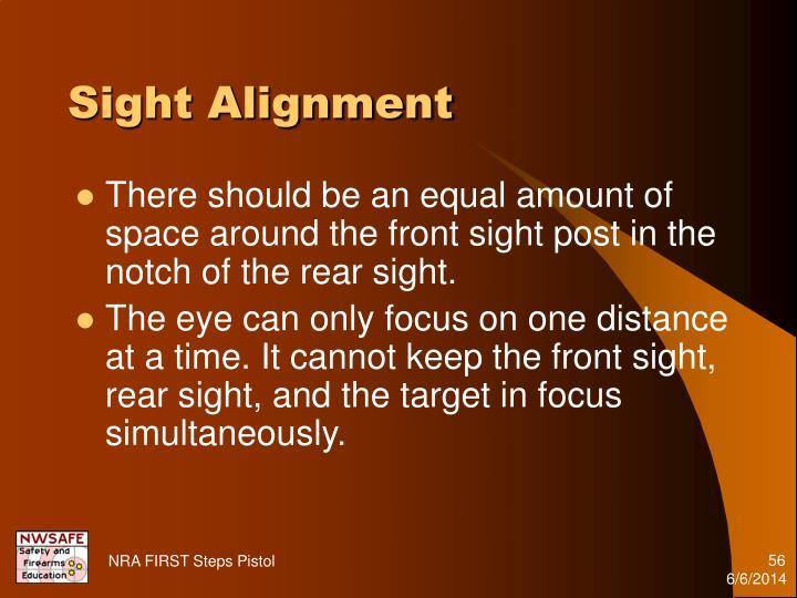 Sight Alignment