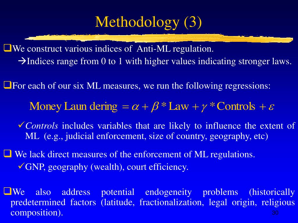 Methodology (3)