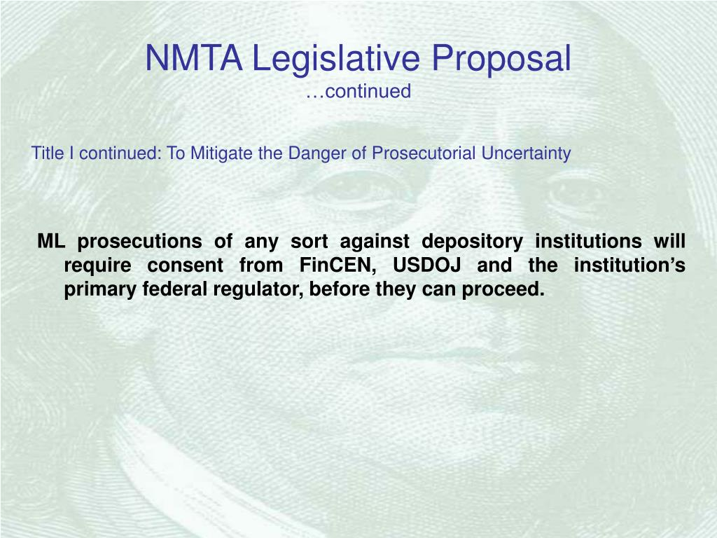 NMTA Legislative Proposal