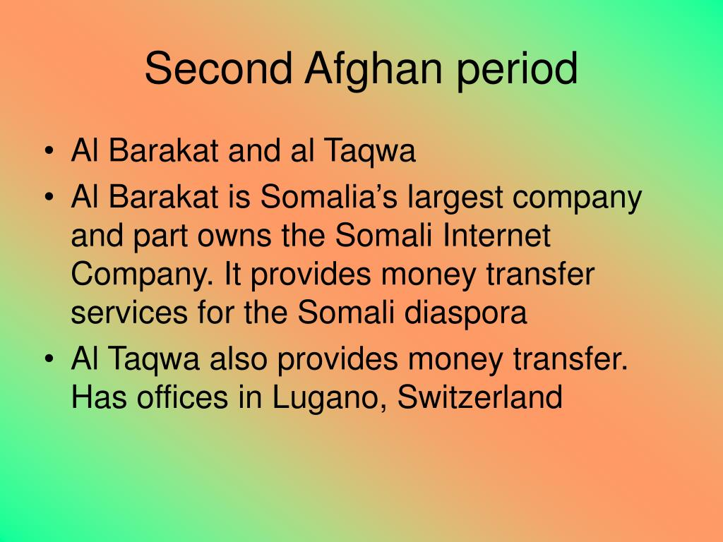 Second Afghan period