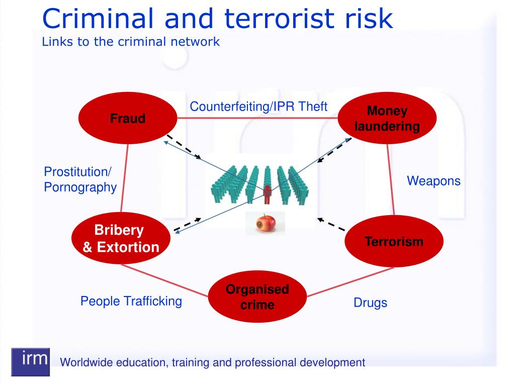 Criminal and terrorist risk