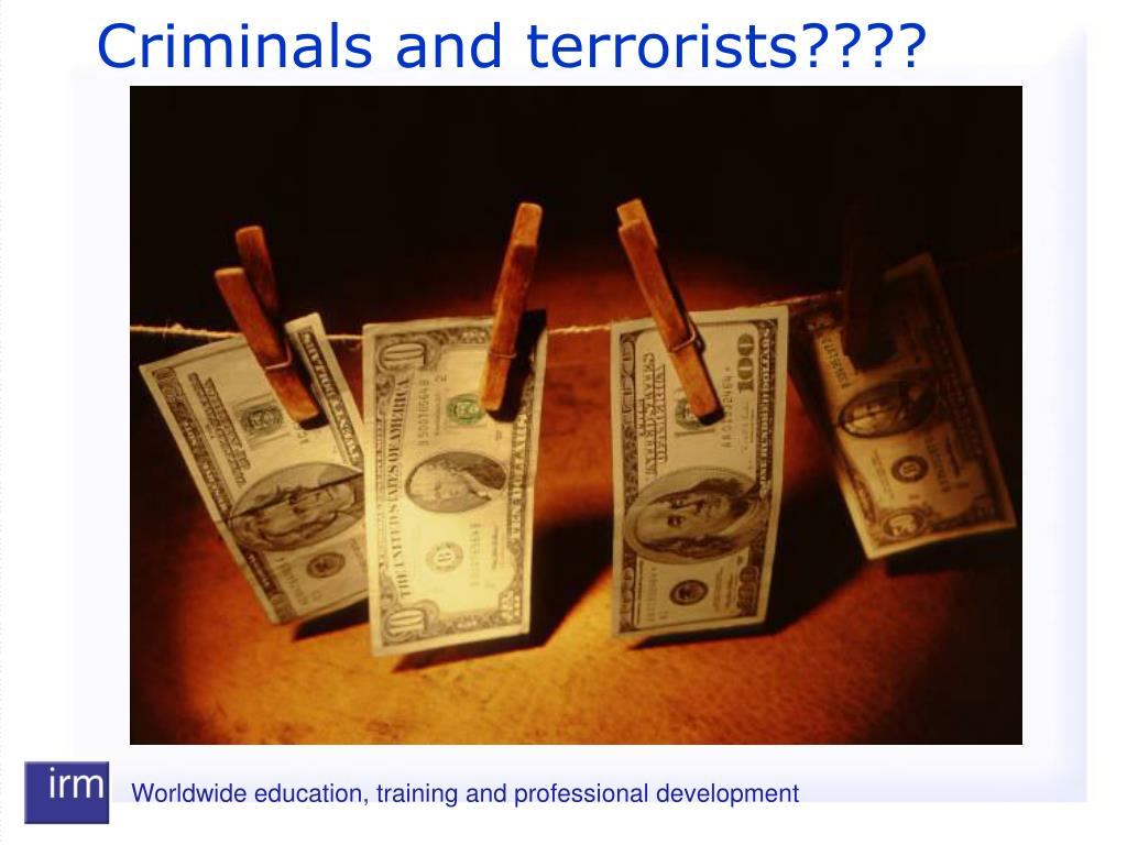 Criminals and terrorists????