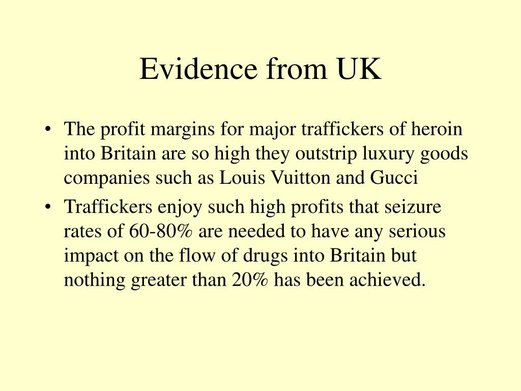 Evidence from UK