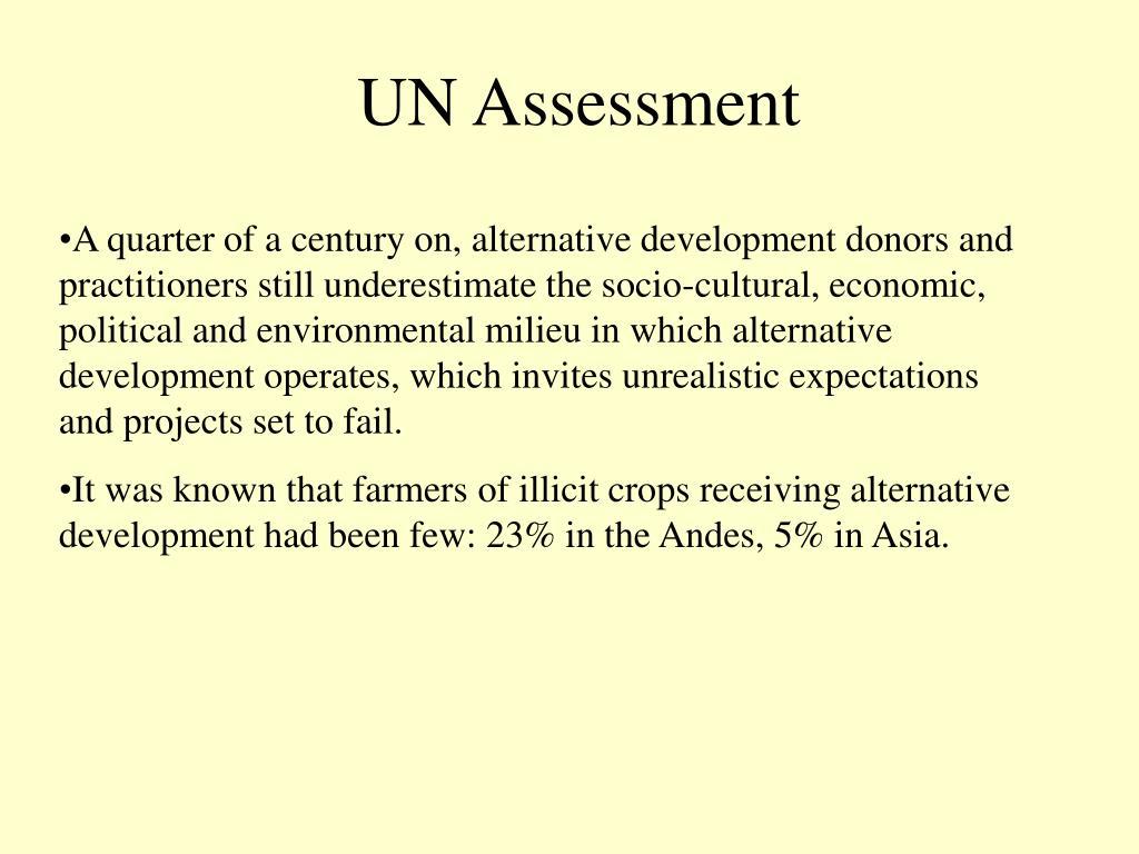 UN Assessment