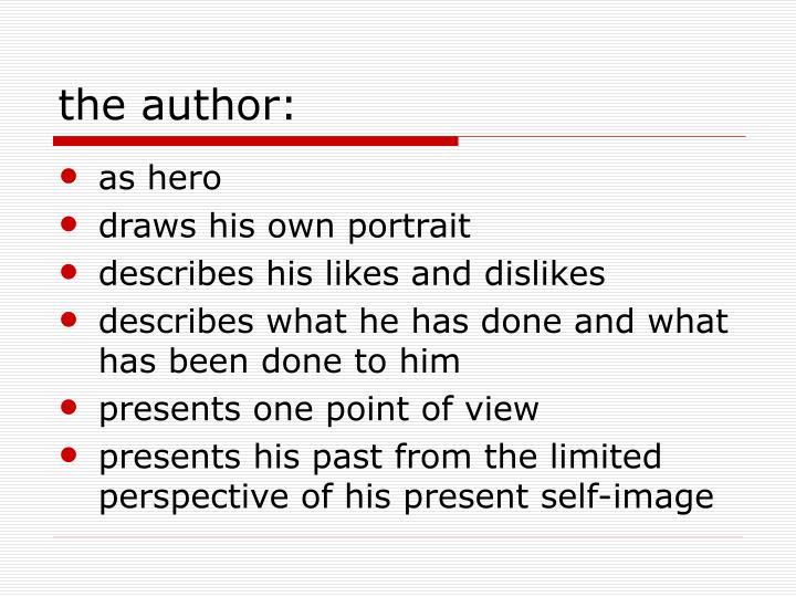 the author: