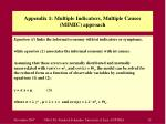 appendix 1 multiple indicators multiple causes mimic approach32
