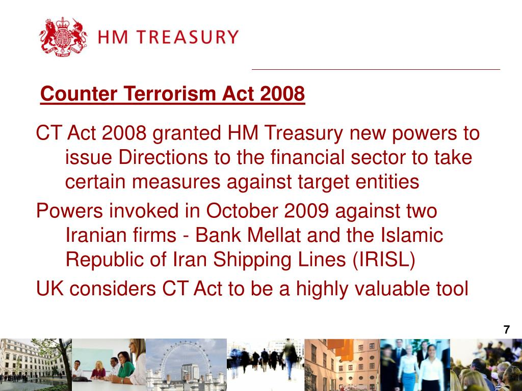 Counter Terrorism Act 2008