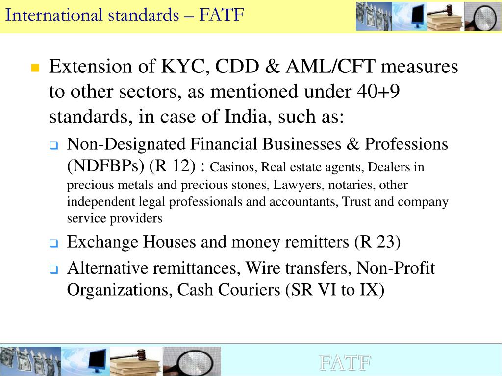 International standards – FATF