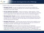 corelink managed security offerings