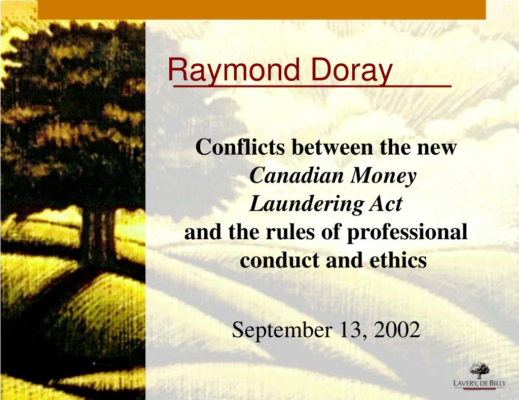 Raymond Doray