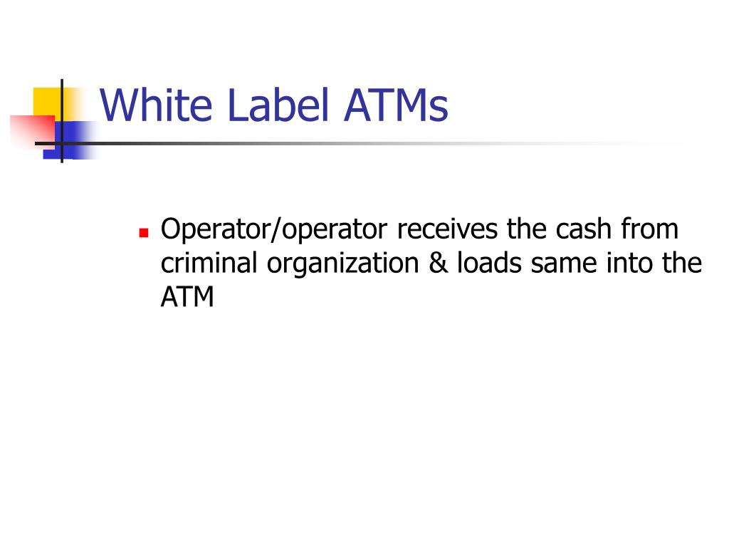 White Label ATMs