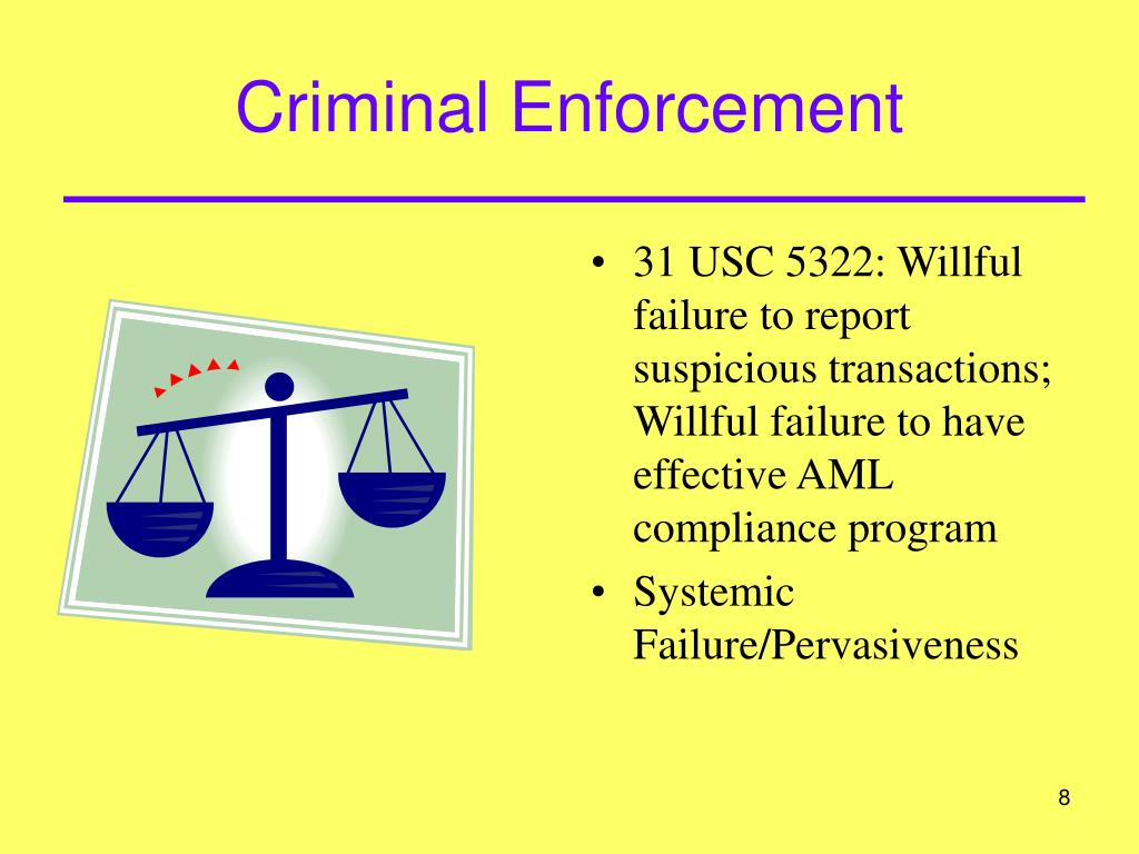 Criminal Enforcement