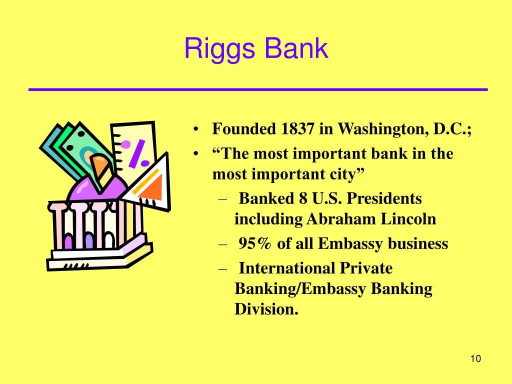 Riggs Bank