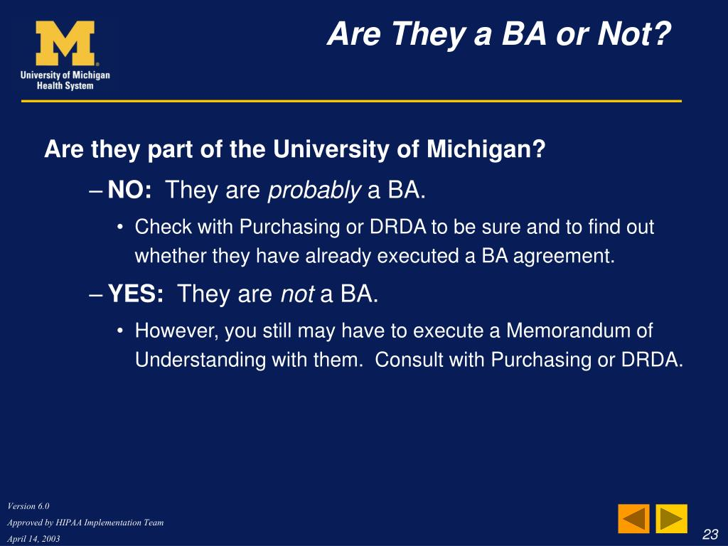 Are they part of the University of Michigan?