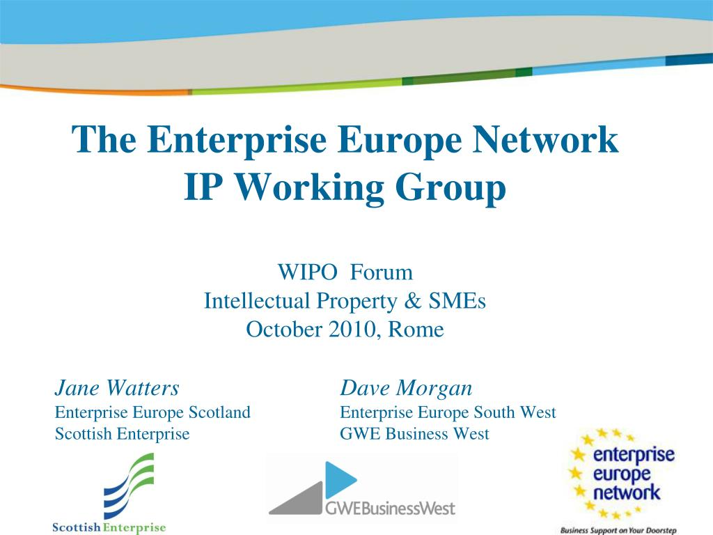 The Enterprise Europe Network