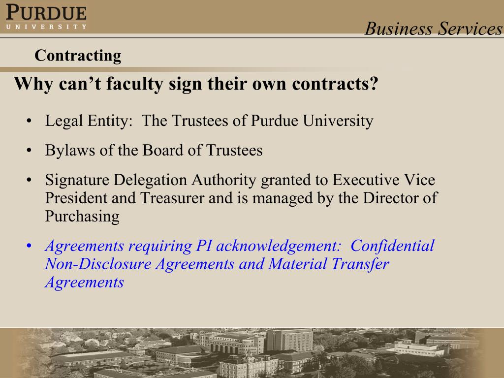 Legal Entity:  The Trustees of Purdue University