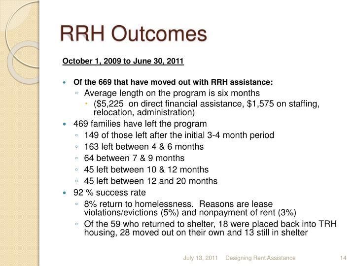 RRH Outcomes