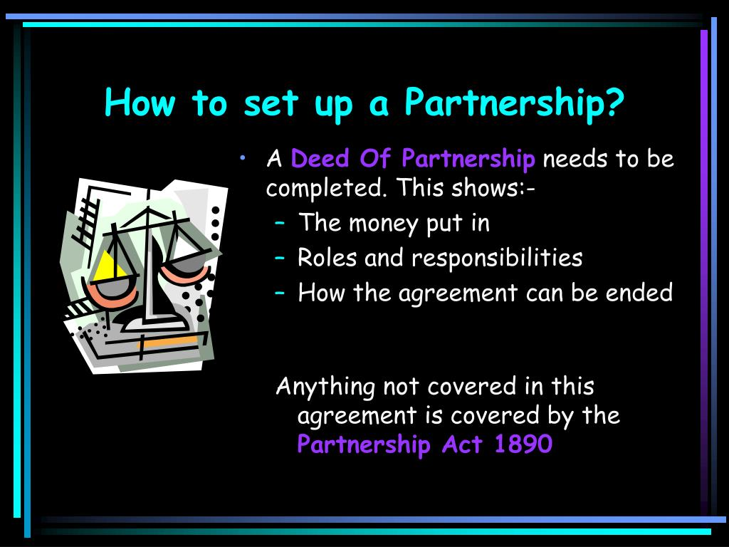 How to set up a Partnership?