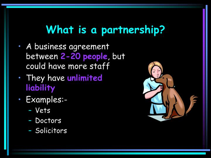What is a partnership l.jpg