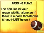 passing plays58