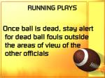 running plays50
