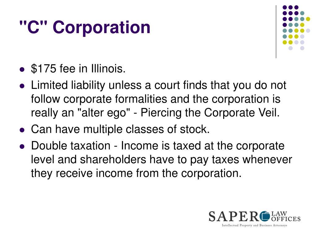 """C"" Corporation"