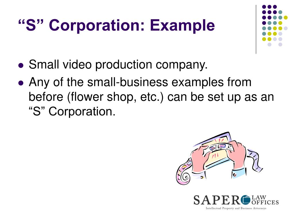 """S"" Corporation: Example"