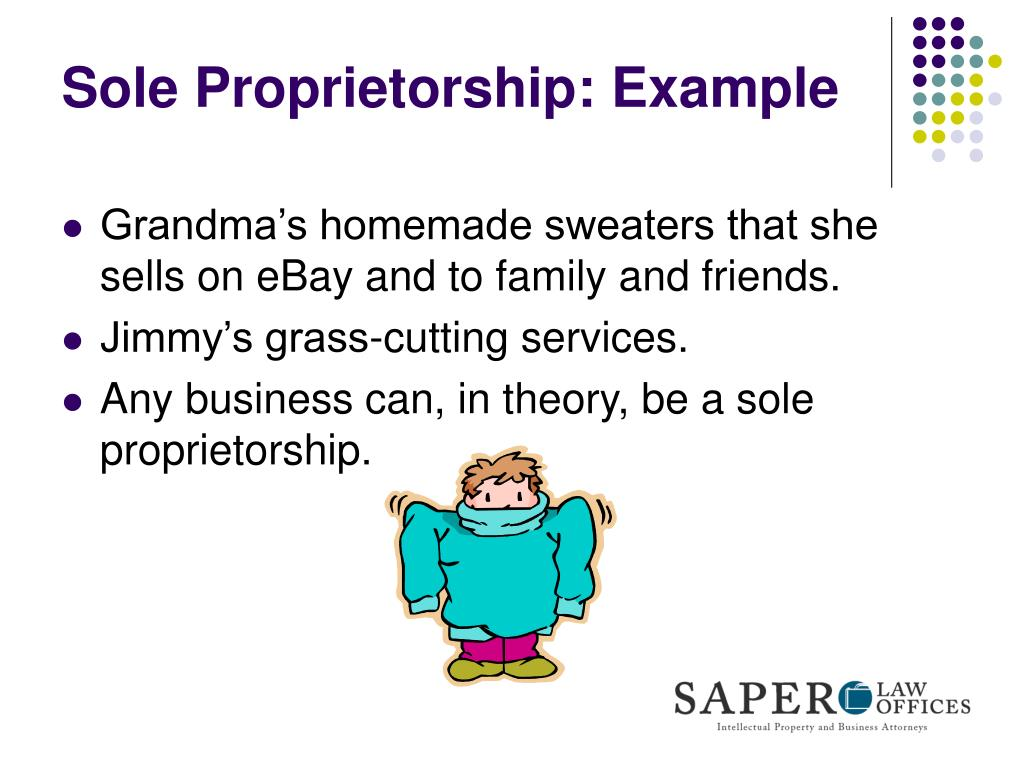 Sole Proprietorship: Example