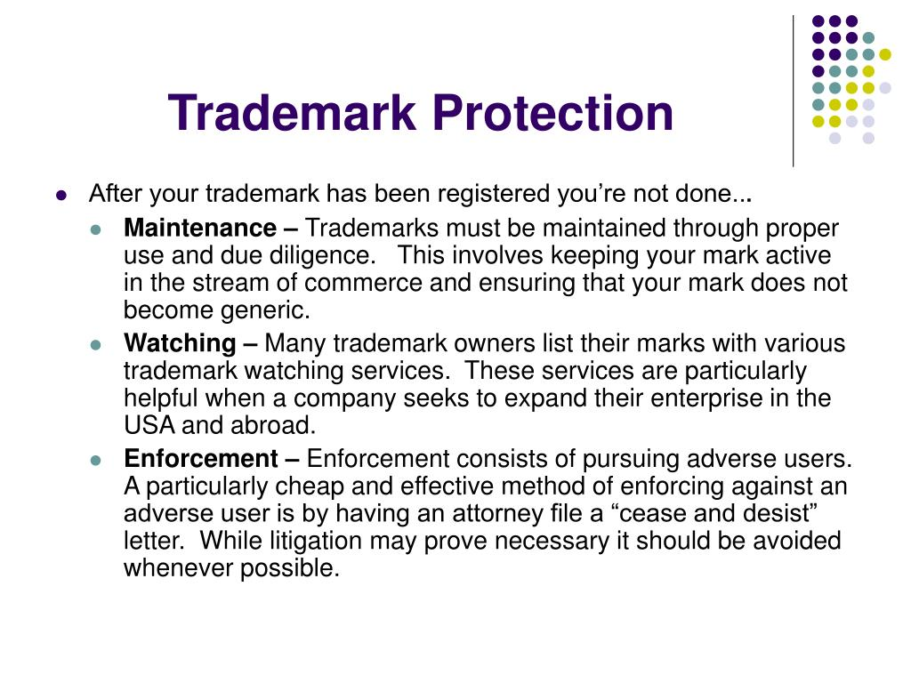 Trademark Protection