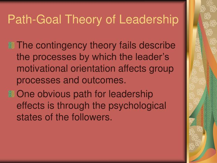 Path-Goal Theory of Leadership