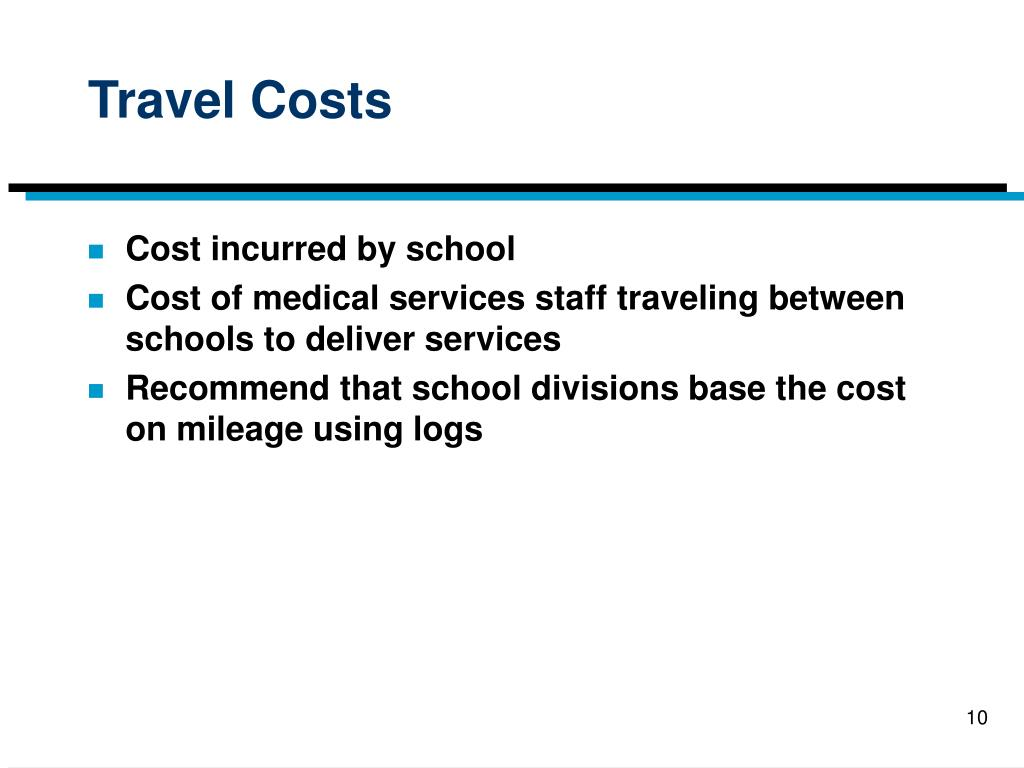 Travel Costs